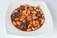 Тушёное мясо Fabada Стоковое Фото