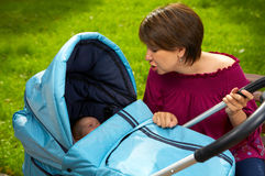 тщательная мать Стоковое Изображение RF