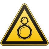 Тщательно затягивать между вращая элементами возможен Внимание опасно больше моего знака портфолио подписывает предупреждение Мер иллюстрация штока