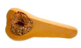 Тыква в отрезке Стоковая Фотография