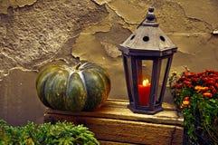 тыква изверга фонарика halloween головная Стоковые Фото