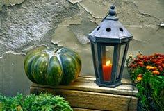 тыква изверга фонарика halloween головная Стоковые Изображения RF