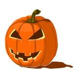 тыква изверга фонарика halloween головная Стоковая Фотография