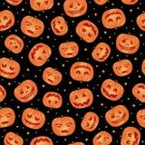 тыква картины halloween иллюстрация вектора