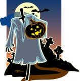 тыква луны halloween предпосылки b Стоковые Изображения RF