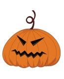 Тыква хеллоуина вектора Стоковые Фото