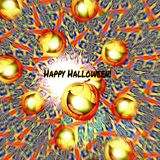 Тыква хеллоуина радостной тыквы весёлая Стоковая Фотография RF
