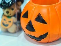 Тыква хеллоуина, селективный фокус стоковые изображения