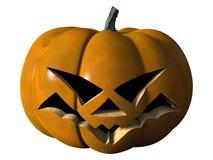 Тыква хеллоуина страшная Стоковые Изображения