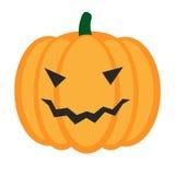 Тыква хеллоуина шаржа с улыбкой Стоковое Фото