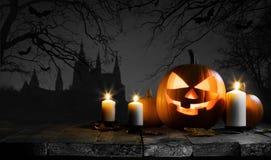тыква halloween карточки Стоковое Фото