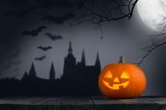 тыква halloween карточки Стоковая Фотография RF