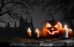 тыква halloween карточки Стоковые Фото