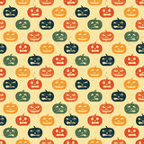 тыква halloween предпосылки безшовная иллюстрация штока