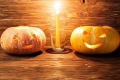 тыква halloween предпосылки Стоковые Изображения RF