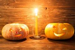 тыква halloween предпосылки Стоковые Изображения