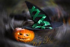 тыква halloween предпосылки Стоковые Фотографии RF