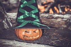 тыква halloween предпосылки Стоковое фото RF