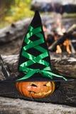 тыква halloween предпосылки Стоковое Изображение RF