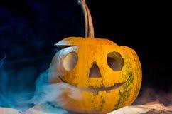 тыква halloween пугающая Стоковые Фотографии RF