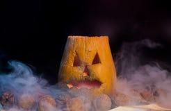тыква halloween пугающая Стоковое Фото