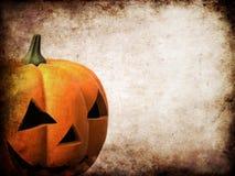тыква halloween grunge Стоковое Изображение