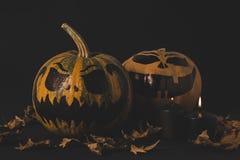 Тыквы для торжества хеллоуина Стоковые Изображения RF