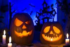 Тыквы фото на хеллоуин весь день saints Стоковая Фотография RF