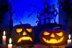 Тыквы фото на хеллоуин весь день saints Стоковое Изображение