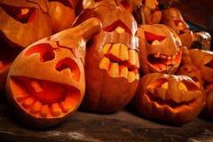 Тыквы хеллоуина Стоковая Фотография
