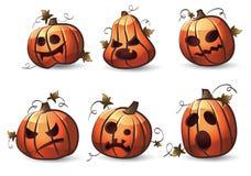 тыквы halloween Стоковое Фото