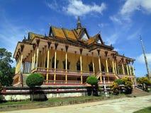 Тысяча висков colums, Камбоджа стоковое фото