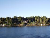 Тысяча острова и Кингстон в Онтарио, Канада Стоковая Фотография RF