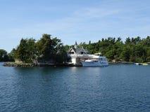 Тысяча островов Канады стоковая фотография rf