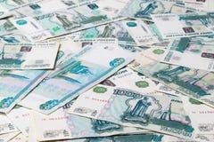 Тысяча рублевок банкнот Стоковые Изображения RF
