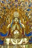 Тысяча - статуя Avalokitesvara руки Стоковые Фото