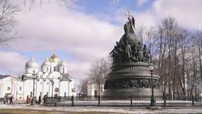 Тысячелетие памятника России в Veliky Новгороде акции видеоматериалы