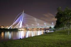 тысячелетие putrajaya моста стоковые фотографии rf