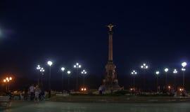 Тысячелетие памятника Yaroslavl Стоковые Фотографии RF