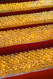 Тысячи lanters масла wesak Стоковое Фото