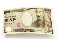 10 тысяч банкнота иен Стоковая Фотография RF