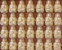 10 тысяч золотое Buddhas Стоковые Изображения RF