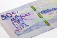 50 тысяч колумбийские песо Билл Стоковые Изображения