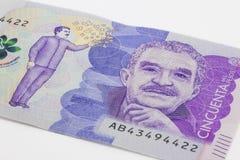 50 тысяч колумбийские песо Билл Стоковое Изображение