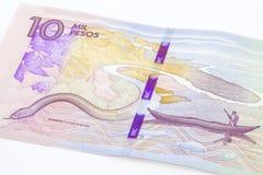 10 тысяч колумбийские песо Билл Стоковые Фото