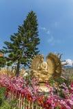 10 тысяч монастырь Buddhas в Гонконге стоковое изображение rf