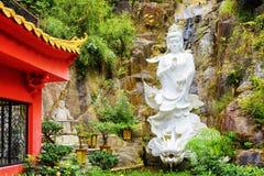 10 тысяч монастырь Buddhas в Гонконге Стоковое фото RF