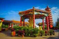 10 тысяч монастырь Buddhas в олове Sha, Гонконге, Китае Стоковое Изображение RF