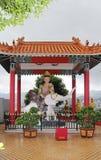 10 тысяч монастырь Buddhas в олове Sha, Гонконге Стоковые Изображения RF