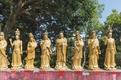 10 тысяч монастырь Buddhas в Hong Стоковое Фото